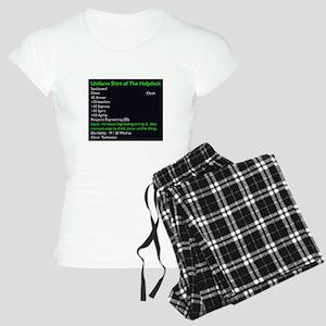 [Shirt of The Helpdesk] Women's Light Pajamas